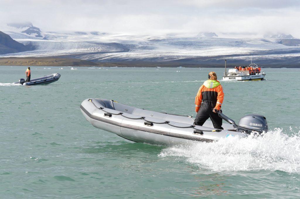 brandstofverbruik van een motorboot